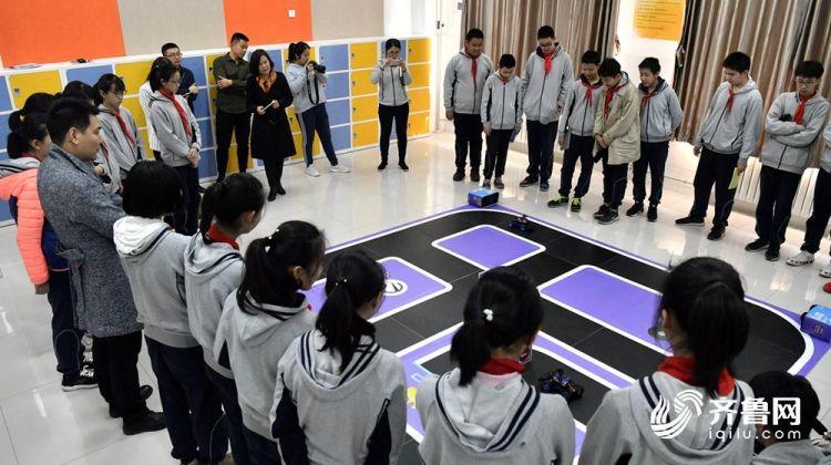 无人驾驶 语音识别 济南中学生玩起了人工智能 支持