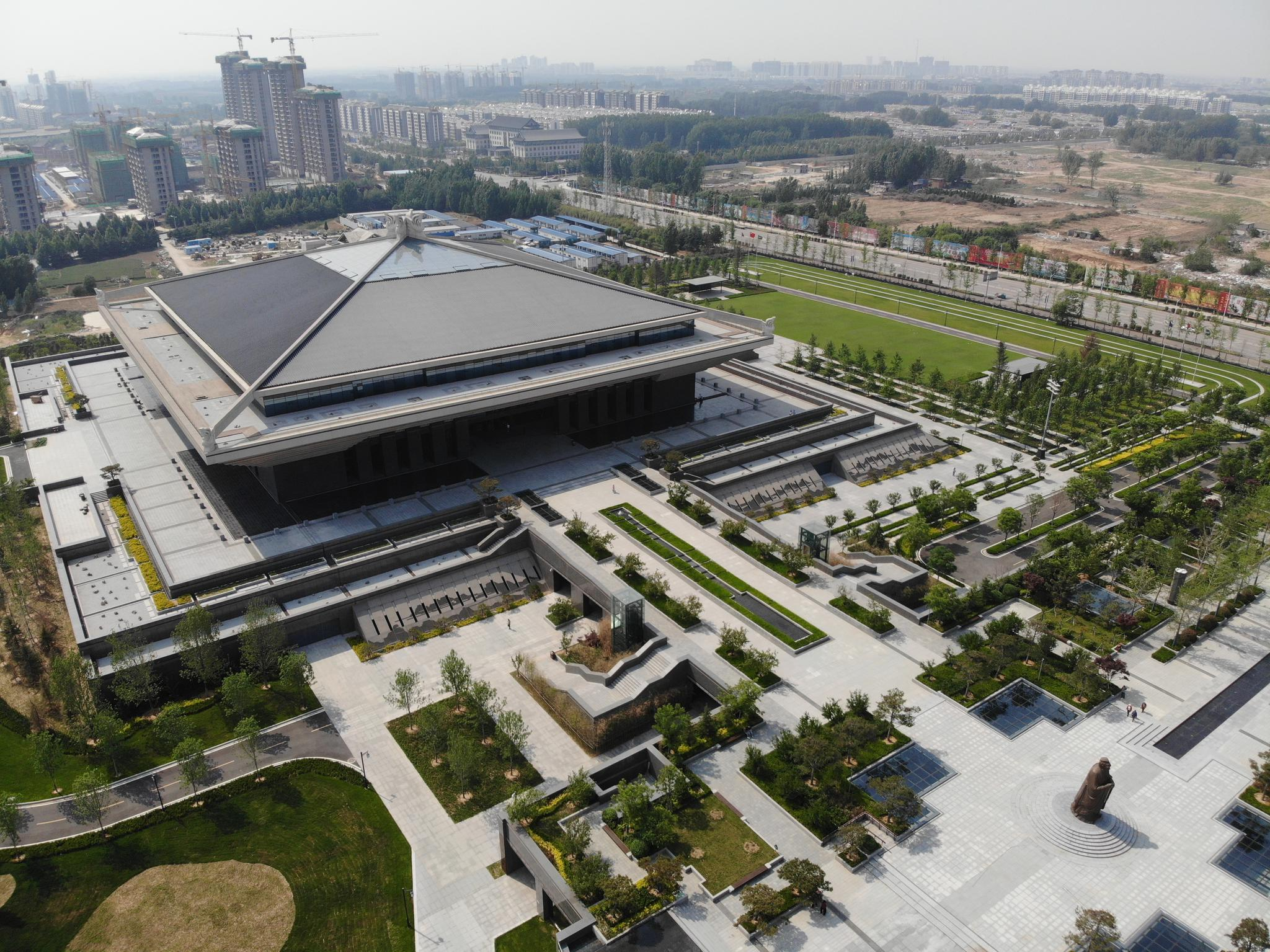 孔子博物馆开始带观众试运行 可网上预约免费参观