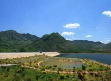 临朐县嵩山生态旅游区天然气管道破裂起火 无人员伤亡