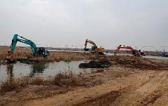 开工复工率100% 山东重点水利工程建设进入快车道