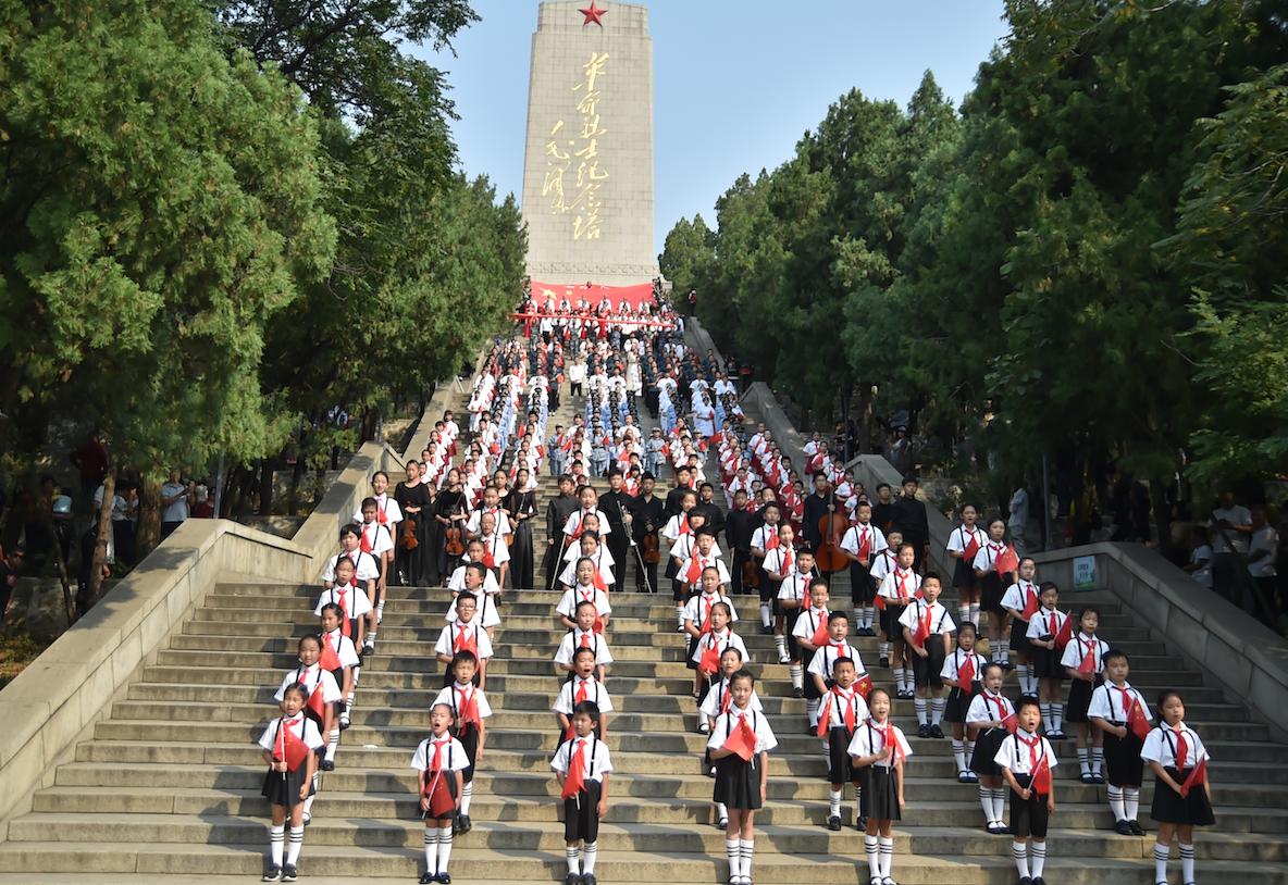 """""""祖国正青春·70你最美"""" 团省委举行庆祝新中国成立70周年"""