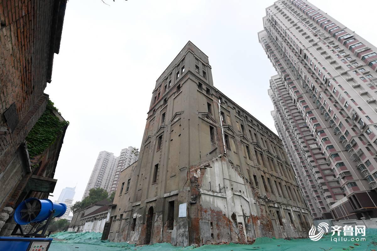 成丰面粉厂楼:曾经的济南第一高