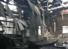 平阴仓库爆炸未对大气、水形成影响 消防用水等均未向外排放