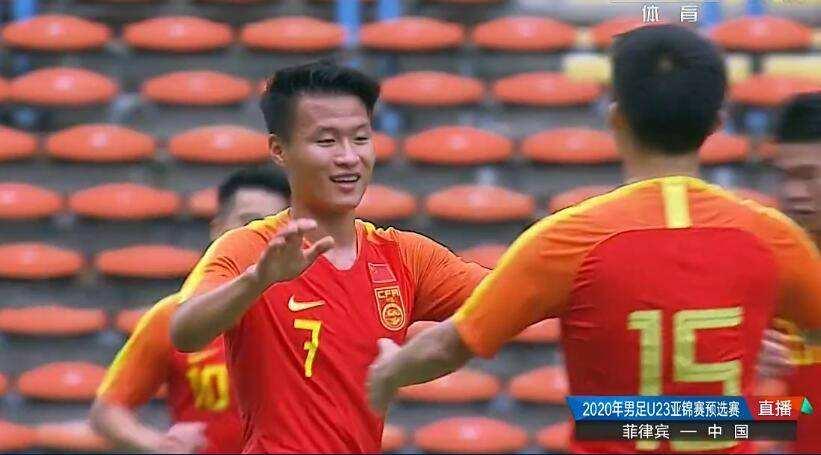 【奥预赛】国奥8-0菲律宾,胡靖航造三球
