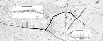 跨工业北路、大辛河 未来济南站到济南东站仅需十来分钟