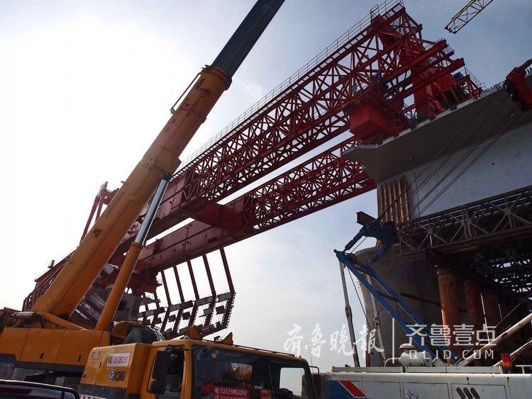 胶州湾跨海铁路桥用上黑科技
