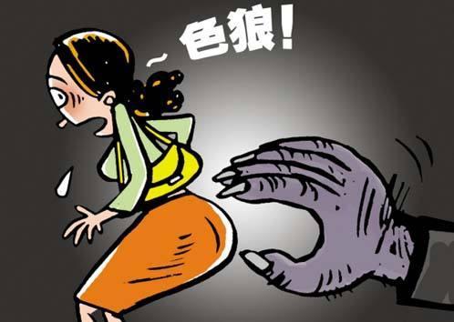 猥亵惯犯重操旧业 凌晨在街头看见美女伸手就抱