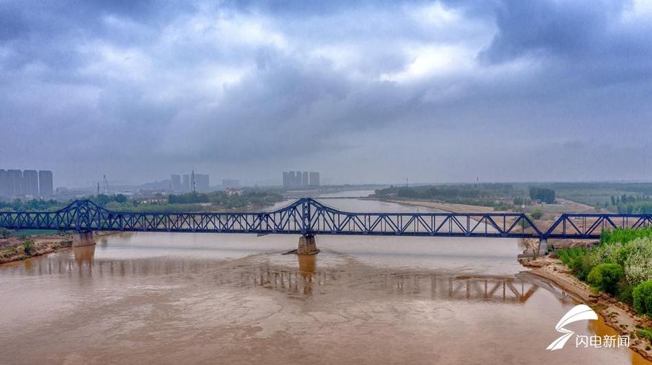 瞰百年黄河大桥 曾由詹天佑选址