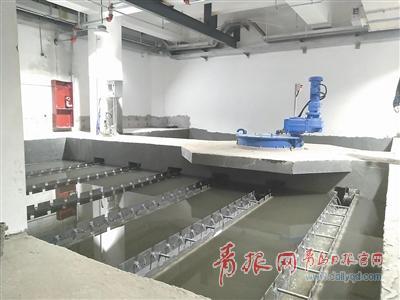 """国内""""最深""""污水处理厂青岛启用 过滤精度达0.1微米"""