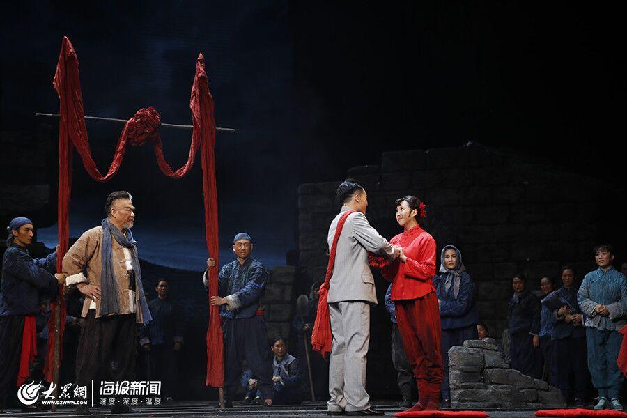 民族歌剧《沂蒙山》 演绎永不退色的沂蒙情义