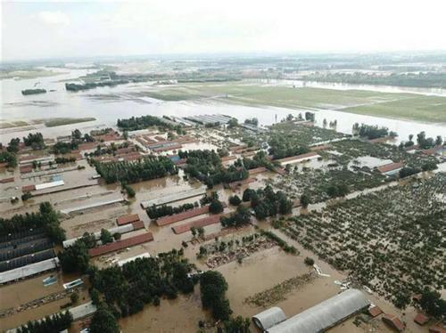 专题|寿光洪灾救援
