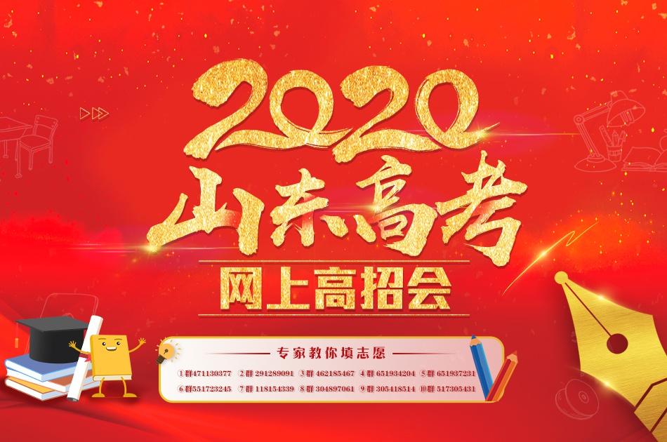 2020山东高考网上高招会