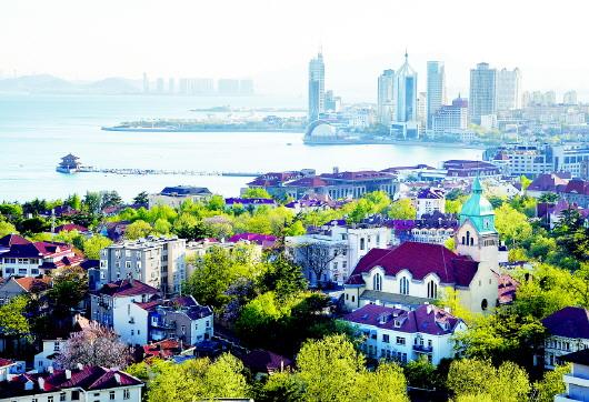 百年老城诠释时代内涵别样青岛拥抱上合峰会