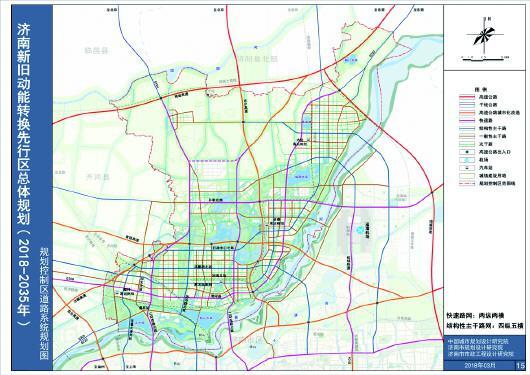 15—规划控制区道路系统规划图
