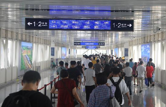 暑期山东铁路出行大数据显示,山东人最喜欢去的城市是济、青、潍