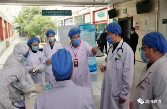 【抗击疫情 政协在行动】市政协委员陈连坤奔忙在疫情防控工作第一线