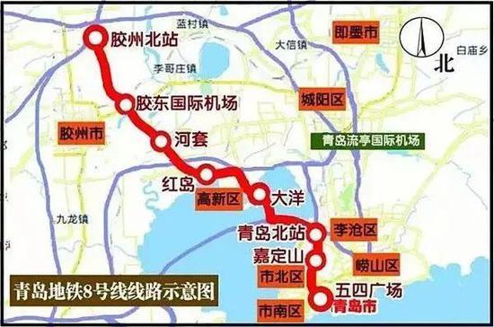 在铁路方面,济青高铁将设新机场站,胶州北站到红岛修建了铁路综合
