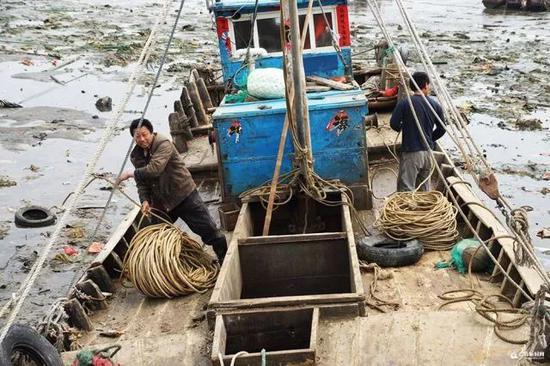 末班渔船靠港