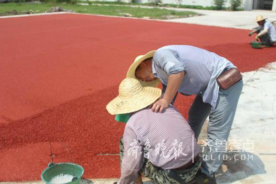 [焦点]枣庄:高温下的工作的他们 由衷地点个赞