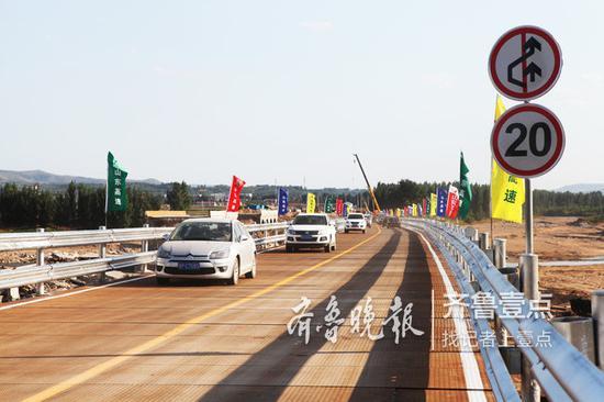 9日,大桥已经实现通车。