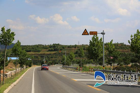国道308设置的图形化标志更好做到路况预告