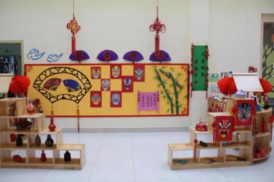 幼儿园民族头饰手工制作