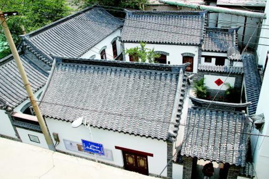老舍先生故居和纪念馆是济南文旅的一张名片。齐鲁晚报·齐鲁壹点 记者周青先摄