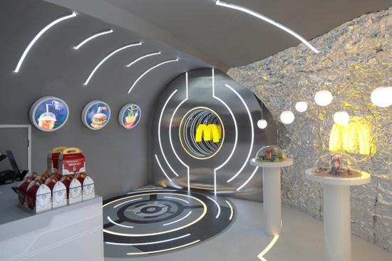 """麦当劳首家火箭餐厅亮相""""淘宝造物节"""" 首发""""无用之用""""系列周边9月17日全国限量推出"""
