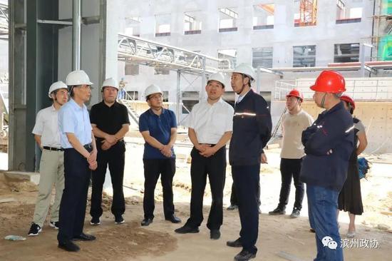 市政协副主席万永格到博兴县调研帮包重点项目建设情况