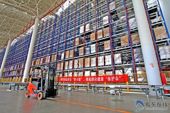 张裕国际葡萄酒城生产中心