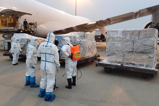 青岛开通首条欧洲货运直飞航线