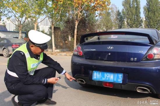 私自改装汽车消音器 罚 车主被责令将汽车恢复原状