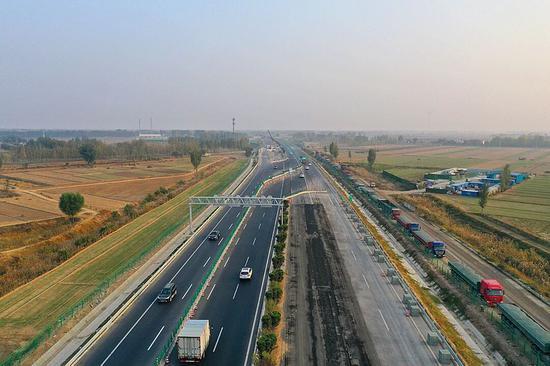 突破 京台高速德齐段改扩建项目年内完成两次转序
