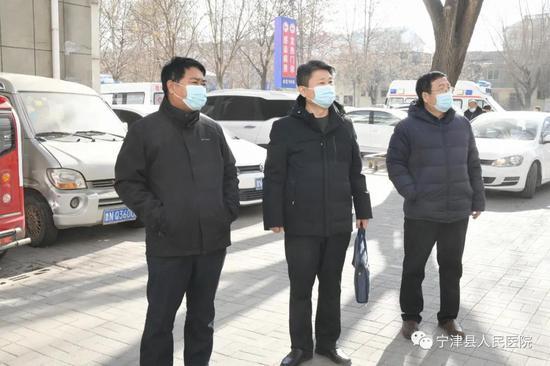 市卫健委督导组来宁津县人民医院检查疫情防控和安全生产工作