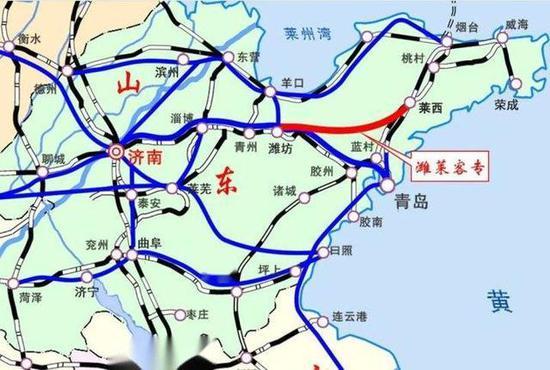 """潍莱高铁将正式具备通车条件 昌邑迈入""""高铁时代"""""""