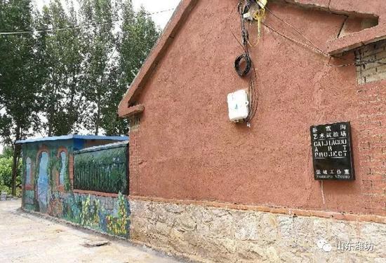 [转载]山东潍坊这个村的墙刷爆了朋友圈路过的都停下来拍照了