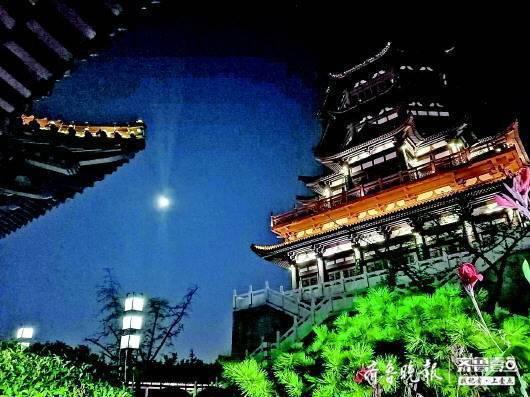 山东大部分地区今夜都能赏朗月高悬