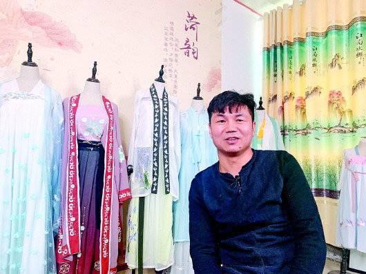 一款汉服三天卖光 中国最大汉服生产基地借双11冲量
