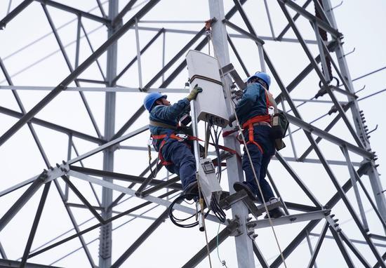 山东首例移动基站共享电力杆塔项目正式投运