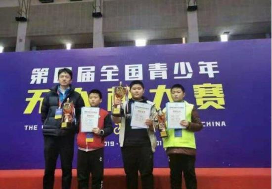 第四届全国青少年无人机大赛 潍坊学子喜获佳绩