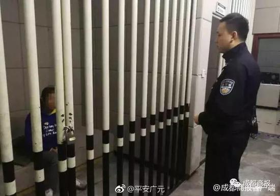 △罗某投案自首被警方控制