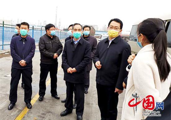 【抗击疫情 政协在行动】万永格一行到博兴县调研包保重点项目建设情况