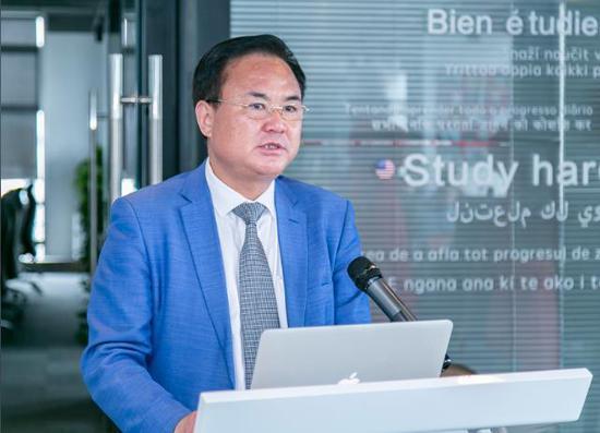 旅游商品专业委员会主任 尹洪福