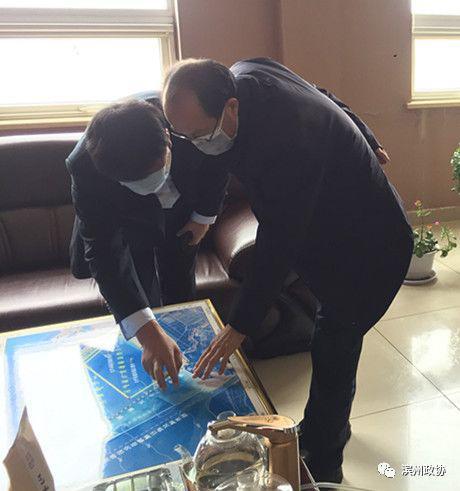 【抗击疫情 政协在行动】滨州市政协副主席王方正到无棣县督导重点项目推进情况