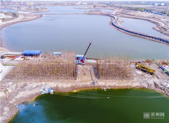 全市首个水系环境综合治理PPP项目快速推进