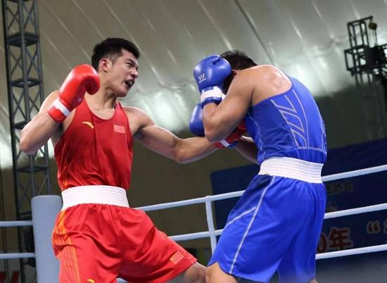 山东第30金 于丰铠获全运会拳击男子91公斤决赛冠军