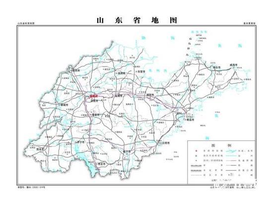 5481幅山东标准地图上线 济宁市地图标准画法图看这里