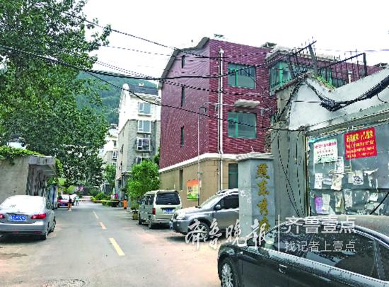 燕东秀府小区。