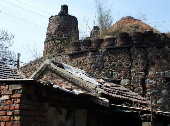 博山区古窑村的百年古窑