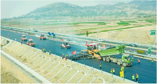 前4月山东高速公路建设完成投资267.9亿元